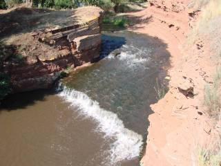 Водопад на реке Янгиз