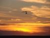 Дельталёт на закате в Аркаиме