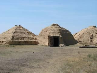 Жилище медно-каменного века