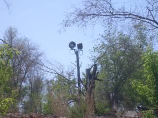 Разрушенный детский трудовой лагерь в окрестностях Орска