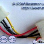 Разводка проводов в штекере типа Molex