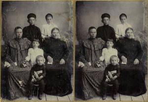 Ретушь старой фотографии