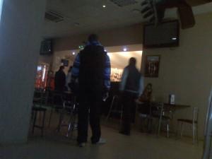 Кафе кинотеатра