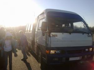 ОренИнфо-2011. День 1. Наш автобус
