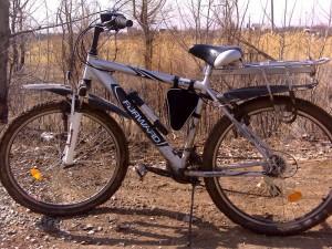 Велосипед после поездки