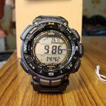 Обзор часов Casio PAG240B-2CR