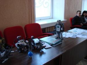 ОренИнфо-2011. День 1. Роботы