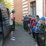 Двухдневный шлюпочный поход по Уралу. День первый