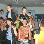 Торжественное закрытие смены в лагере «Стрижи»