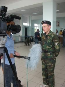 Интервью журналистам