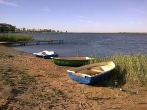 Лодки и катамаран