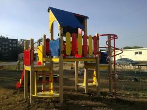 Детская площадка. Шестой микрорайон Орска