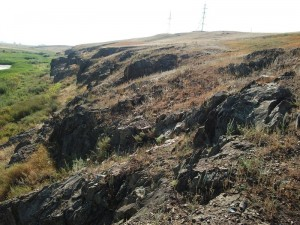 Выход скальных пород