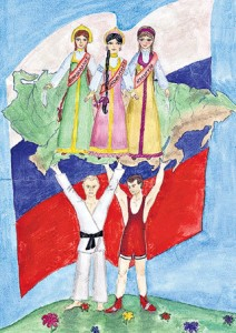 Владимир ПУТИН и Дмитрий МЕДВЕДЕВ держат Россию на своих плечах
