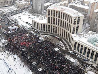 Новые митинги по всей России