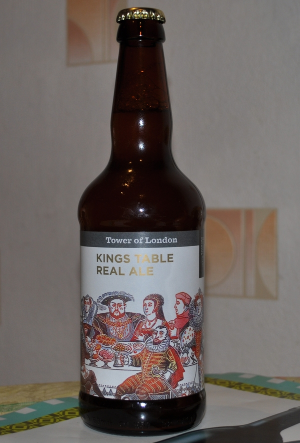 Tower of London King's table real ale
