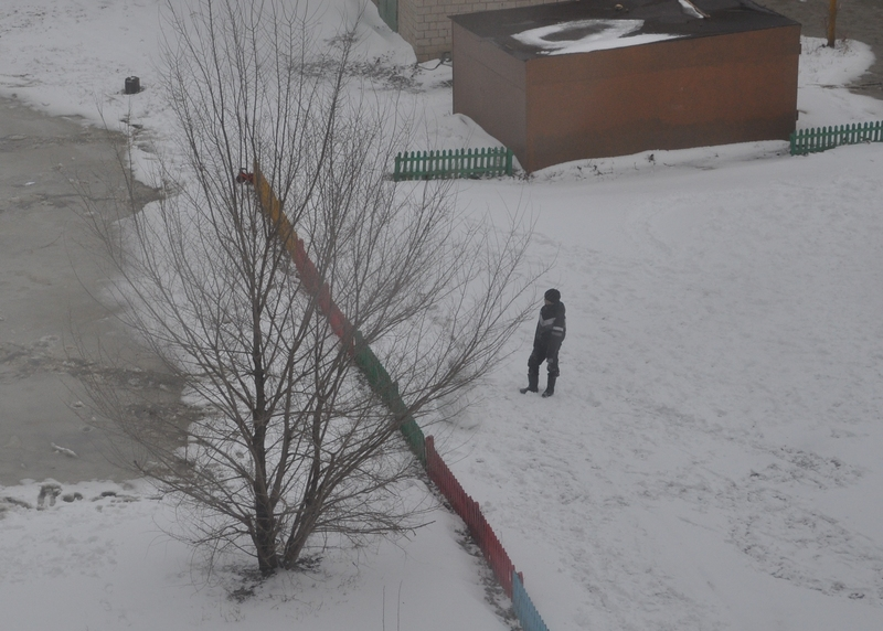 Лепим снеговик