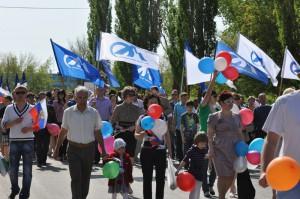 Парад Победы в Ясном