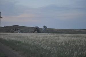 Скала Верблюд. Светлинский район