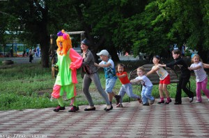 Праздник Советского района. Часть 1
