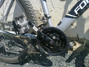 Велосипед после смены шатунов