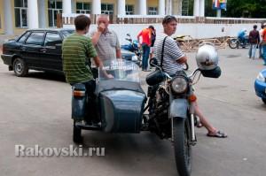 Байкеры на площади Шевченко