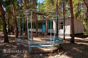 Бывший детский лагерь Чайка