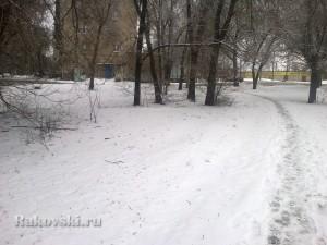 Зима не отступает