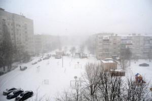 Мороз и снег