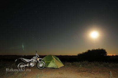 звезды и мотоцикл