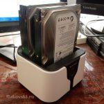 Док-станция для двух HDD