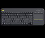 Logitech Wireless Touch Keyboard K400 Plus Black USB